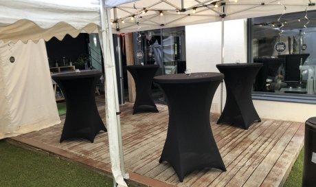 Location de tente de réception et mobilier pour anniversaire à Bain-de-bretagne